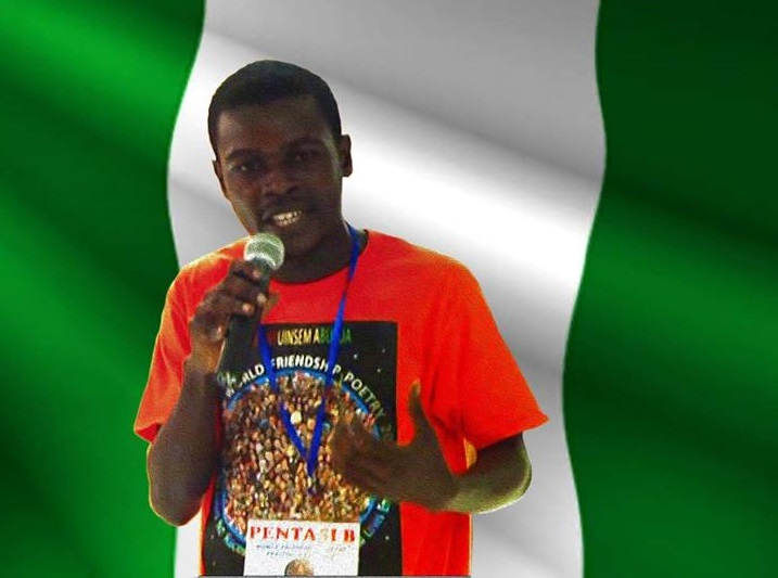 Prolific Nigerian poet, Kolade Olanrewaju Freedom